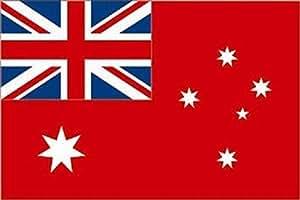 U24Australia Rojo Enseña Bandera 90x 150cm