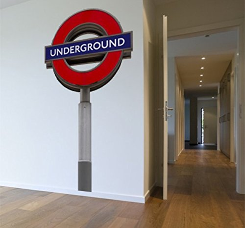 Subway Map Wall Art Wall Art Stickers Wall Decal Huge Underground Tube Map.Large London Tube Sign Removable Wall Sticker Large Underground Sign Wall Decal Peel And Stick London Wall Art
