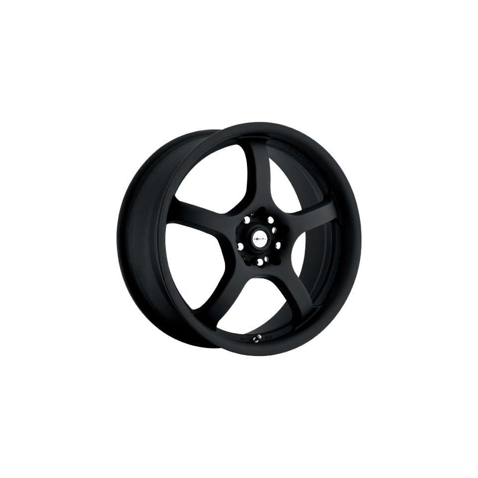 Focal Type 166 F05 FWD Matte Black Wheel (17x7.5/5x110mm)