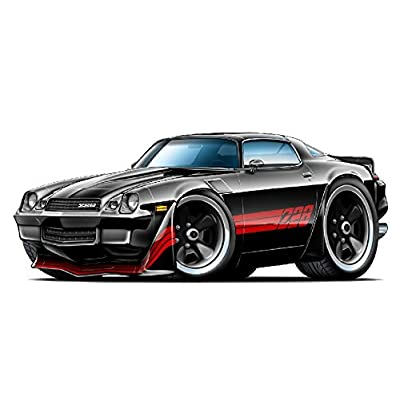 "1980-1981 Chevy Camaro Z 28 2Ft Long (24"") Wall Decal Vintage 3D Car Movable Stickers Vinyl Wall Stickers for Kids Room: Baby"
