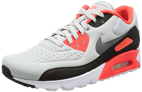 Nike Air Max 90 Infrared (Nike Men's Air Max 90 Ultra SE Pr Pltnm/Cl Gry Ntrl Gry Brt C Running Shoes (9.5))