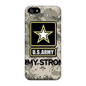 Snap-on Army Case Cover Skin Compatible With Iphone 5/5s