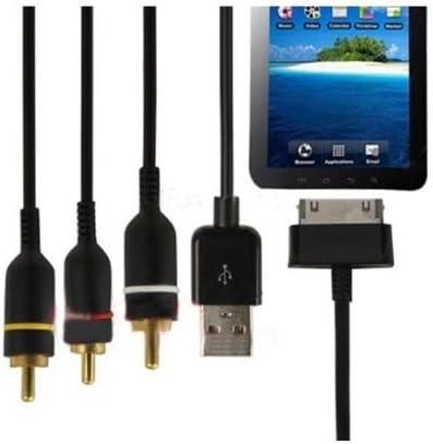 fyl USB AV TV Video Salida de Audio RCA Cable de vídeo para Samsung Galaxy Tab P1000 1010: Amazon.es: Electrónica