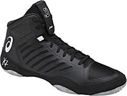 Asics Men's Jb Elite Iii Wrestling Shoe, Blackwhite, 12 Medium Us