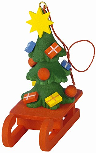 Christian Ulbricht 10-0436 Ornament-Christmas Tree on Sled-2