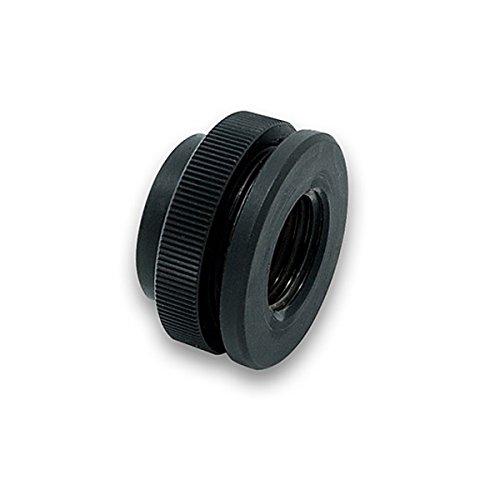 EKWB ek-af Pass-Through G1/4 Black - Hardware Cooling Accessory (25 mm x 25 mm, 14 mm)