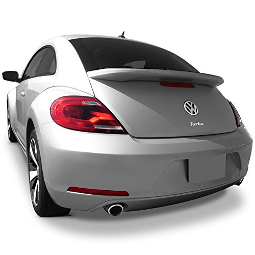 - Dawn Enterprises BEET12 Factory Style Flush Mount Spoiler Compatible with Volkswagen Beetle - Candy White (LB9A)