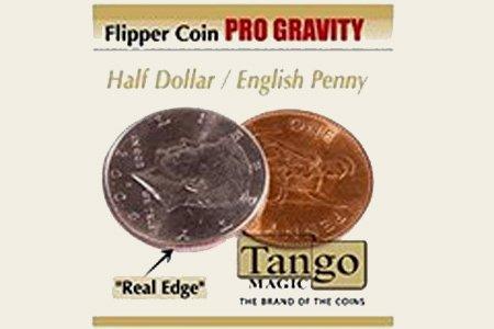 precioso Flipper Flipper Flipper Coin 1 Penny ½ Dollar (Pro Elastic)  hermoso