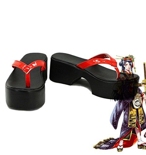 Touken Ranbu Online Game Jiroutachi Cosplay Shoes Boots Custom Made