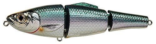 Koppers Herring Blueback Salt Water Swimbait, Silver/Green, 5-1/2-Inch, 1-5/8-Ounce