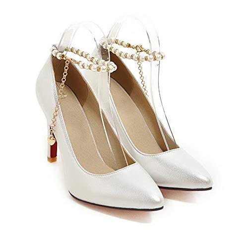 Femme MMS06152 Blanc Inconnu Sandales 5 Blanc Compensées 1TO9 36 1nIIvqFX