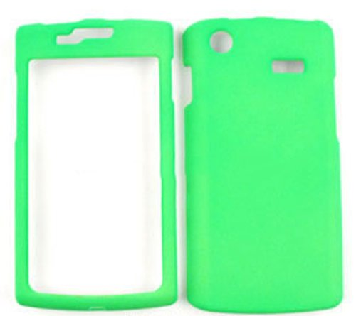 ACCESSORY HARD PROTECTOR CASE COVER FOR SAMSUNG CAPTIVATE (GALAXY S) I897 NEON LIME GREEN
