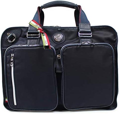 【日本正規品】 オロビアンコ ビジネスバッグ Orobianco 4WAY リュック バッグ ANGOLOGIRO-C 01 ブリーフケース ショルダー A4 B4 大きめ 通勤 ビジネス ナイロン 本革 メンズ orobianco-92141 ネイビー/ネイビー(12)(取寄せ)