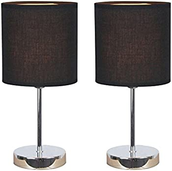 2 Pk.Simple Designs Mini Basic Table Lamp