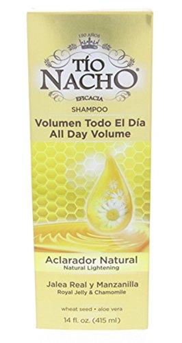 Tio Nacho Natural Lightening Shampoo with Royal Jelly and Chamomile 415ml - Aclarador Natural con Ja by Tio Nacho