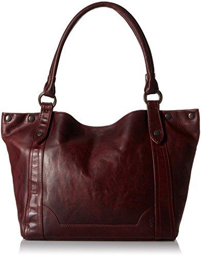 FRYE Melissa Shoulder Handbag,Wine,One Size 412TfCHDErL
