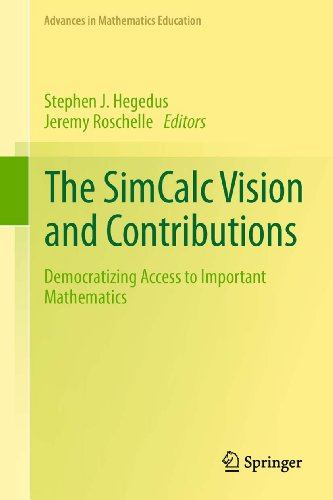 Download The SimCalc Vision and Contributions (Advances in Mathematics Education) Pdf