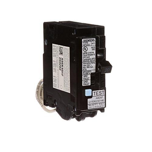 Siemens Q120DF 20-Amp Afci//Gfci Dual Function Circuit Breaker