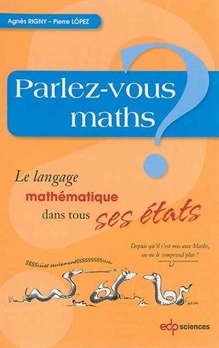 Parlez vous Maths ? EDP Sciences