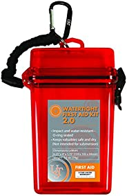 UST Watertight First Aid Kit with Durable, Lightweight Construction, Bandages and Antiseptic for Minor Injurie