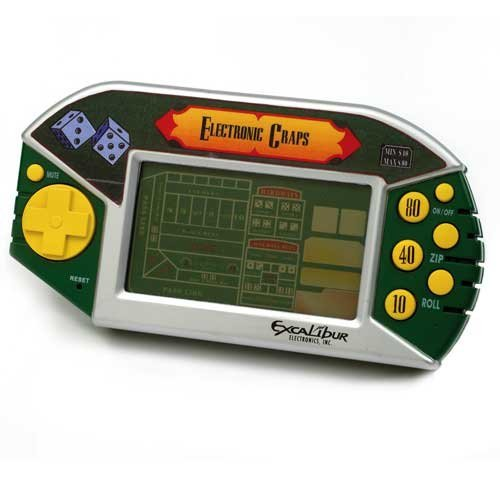 Top 8 craps electronic game for 2020