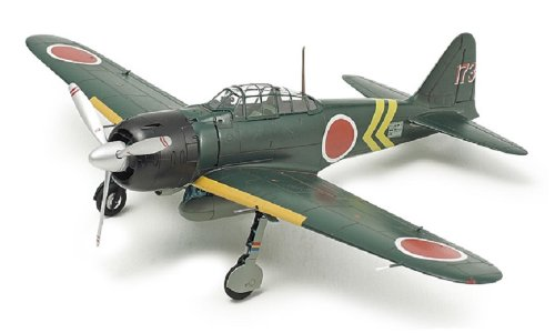 Tamiya Models Mitsubishi A6M3/3a Zero Fighter Model 22 Building Kit Mitsubishi Model Kit