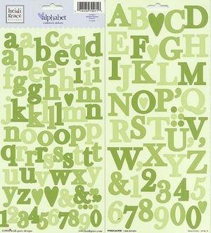 Heidi Grace Designs - Heidi Grace Designs Alphabet Cardstock Stickers - Vineyard