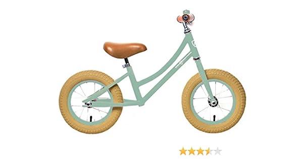 Rebel Kidz Air Classic Bicicleta de Aprendizaje, Unisex niños, Verde, Talla Única: Amazon.es: Deportes y aire libre