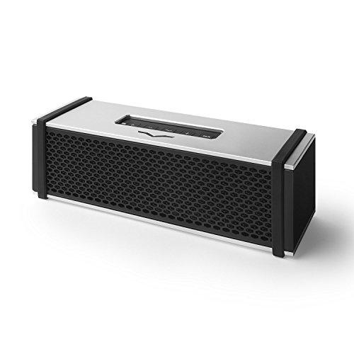 V-MODA REMIX Bluetooth Hi-Fi Metal Mobile Speaker - Silver (Go Audio Distribution Modules)
