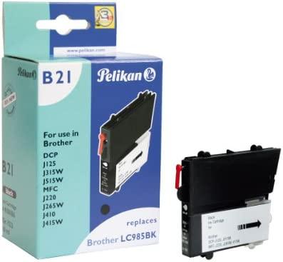 Pelikan 4106186 - Cartucho de tinta Brother DCP-J125, J315W ...
