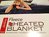 How Wide Is a King Size Bed Sunbeam Heated Fleece Electric Blanket