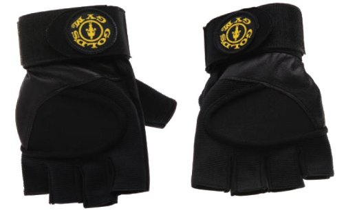 Gold's Gym Wrist Wrap Gloves - Small