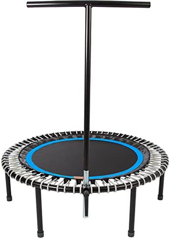 bellicon Plus Trampoline 44 with Screw-in Legs – Made in Germany – Best Bounce – 60 Day Online Workout Program