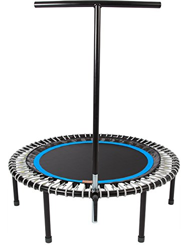 "bellicon Plus 44"" with Screw-In Legs (Black Mat/Silver Bungees, Ultra-Strong Bungees (280-440 lbs))"