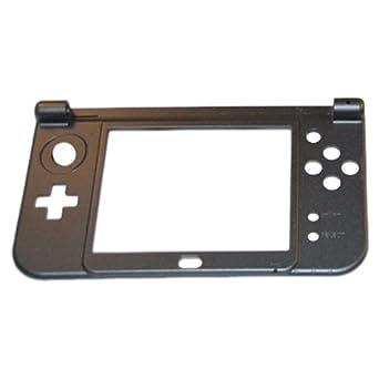 Carcasa Inferior Nintendo New 3DS XL Gris / Negro Metálico ...