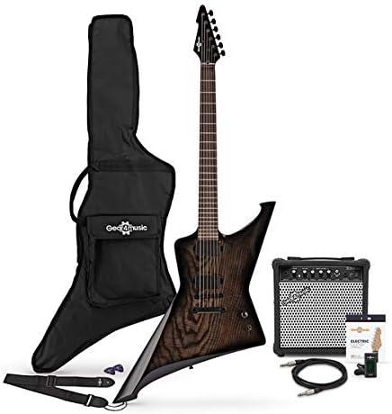 Paquete de Guitarra Electrica Harlem Z + Amplificador de 15 W ...