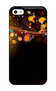 Ideal ZippyDoritEduard Case Cover For Iphone 5/5s(cgi Flowers Colors Abstract Colors), Protective Stylish Case