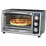 Applica Black&Decker 6 Slice Countertop Convection Toaster Oven; Black