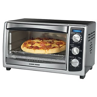 Applica Black&Decker 6 Slice Countertop Convection Toaster Oven; Black