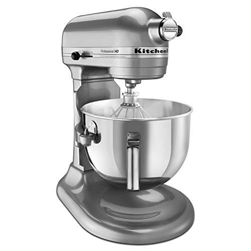 KitchenAid Professional 5 Plus Series Stand Mixers -  Metallic Chrome - smallkitchenideas.us