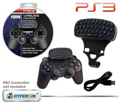 PS3 Hyperkin Wireless Keypad