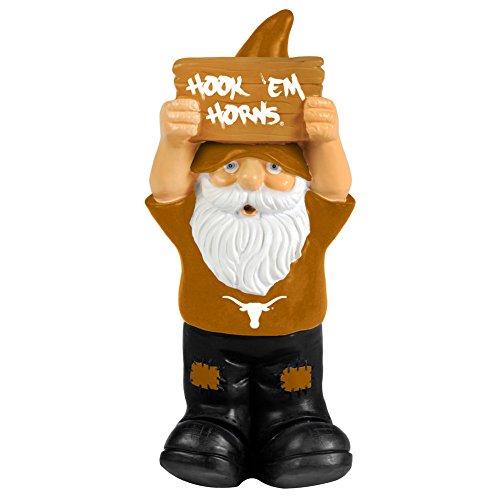 Elite Fan Shop Texas LongHorns Garden Gnome - (Texas Longhorns Fan)