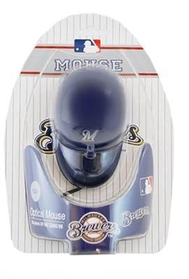 Milwaukee Brewers MLB Baseball Cap Hat Computer USB Optical PC Scroll Wheel Mouse