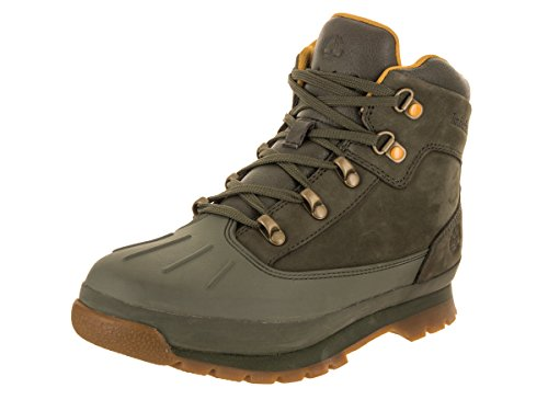 Euro Boot Hiker Timberland Dk Shell Kids Grn toe UgwgST6q
