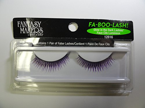 Fantasy Makers by Wet N Wild Fa-Boo-Lash - 12816 Glow in the Dark Lashes -