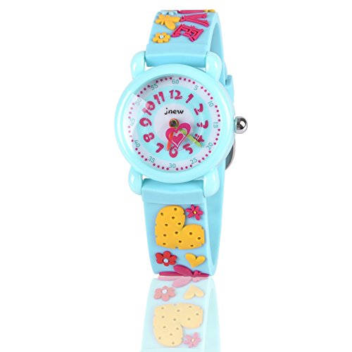 Gift for 3-10 Year Old Girls, Kids Watch for Kids Toy for 3-10 Year Old Girl Gift for Girl Age 3-10 Wristwatch Present for Birthday Little Girl Children by Kids Gift
