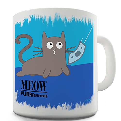 Twisted Envy Nevermeow Album Cover Ceramic Novelty Gift Mug 15 OZ