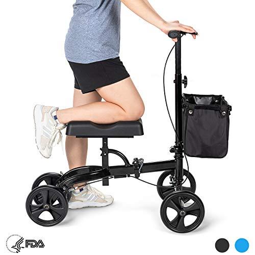 OasisSpace Steerable Knee Walker | Economy Knee Scooter for Foot Injur