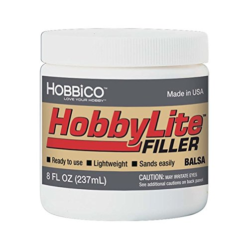 Hobbico HobbyLite Filler Balsa, 8 oz.