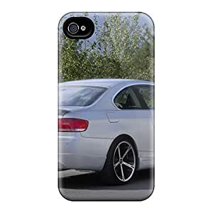 For Iphone 6 Plus Tpu Phone Cases Covers(white Ac Schnitzer Bmw E92 3 Series Coupe Rear Angle) by lolosakes